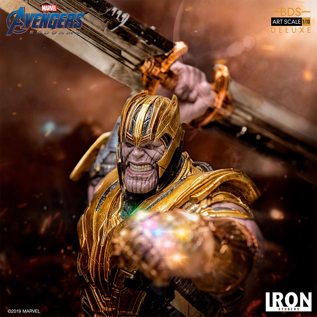 Iron Studios Marvel Thanos End Game Deluxe Art Scale 1/10 Statue
